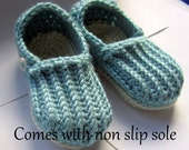 Toddler Slippers, Loafers, kid slippers // Many Sizes and Colors to Choose from // Made with a Non Slip Soles