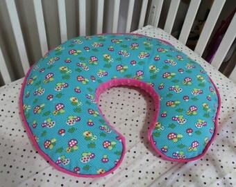 Boppy Pillow Cover - Mushrooms