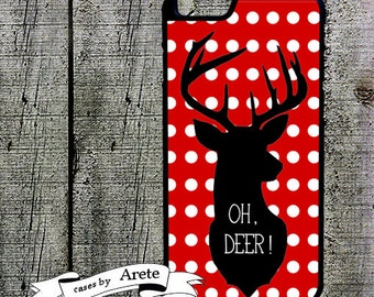Oh Deer Phone Case - fits iPhone 5,5s 5c,6s 6 plus Case Galaxy s3 s4 s5