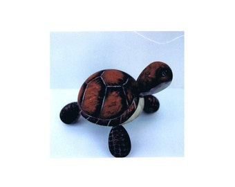 Cayman the Turtle Treasures Decorative Painting Pattern