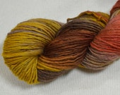 SALE 30% OFF Yarn Hollow Wise Goat Hand Hand Dyed Single Ply Wool/Mohair Ship's Nest Multi Color