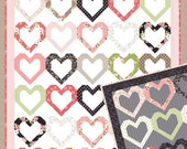 Open Heart quilt pattern from Lella Boutique - fat eighth or fat quarter friendly