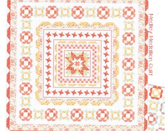 Medley quilt pattern from Coriander Quilts  - Two quilt options
