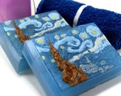 The Starry Night Soap, Vincent van Gogh Starry Night, Gift for Artist