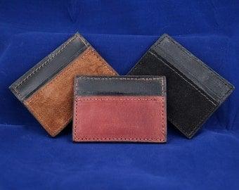 Money Clip Wallet made from Genuine American Alpaca Leather - Slim, Minimalist
