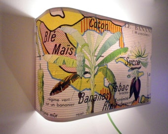 """Applique murale """"Le Bananier"""""""