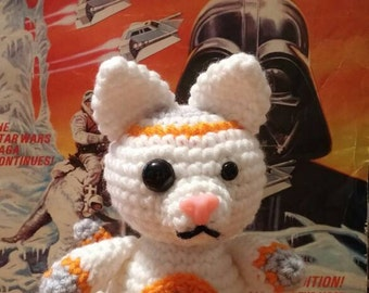 Amigurumi BBKitty Star Wars Inspired Kitty Plush