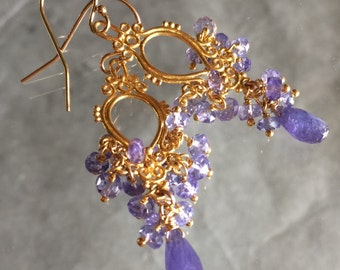 Reserved - Tanzanite Earring