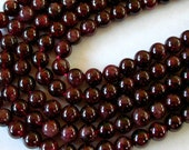 Genuine Garnet Beads 10mm (19)