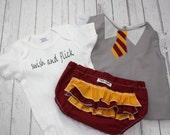 Hermione Swish and Flick Harry Potter ONESIE