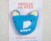 Neville the Bear Stitchin' Kit
