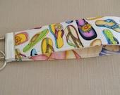 Key Fob wristlet - Flip Flops1
