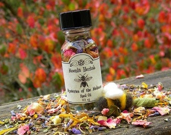 Mysteries of the Melissae Spell Oil of the Bee Priestess - Garden Blessing, Wisdom, Pursuing Dreams, Accomplishing the Impossible