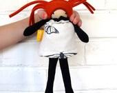 Minli-butterfly- mini flip doll
