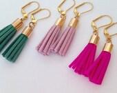 Wholesale tassel earring order - 45 pair mixed