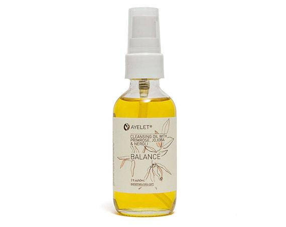 Deep Cleansing Oil| Makeup Remover Elixer| Balancing Cleansing Oil| Sensitive Skin Cleansing Oil|Damaged Skin Cleanser| Neroli Cleanser 2 oz