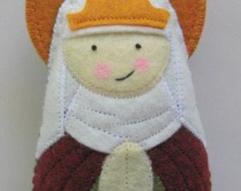 Saint Emma Felt Saint Softie