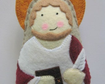 Saint John the Apostle Felt Saint Softie
