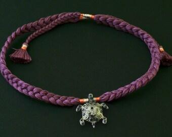 Turtle Charm Bracelet / Choker