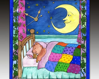 Sweet Dreams Clock