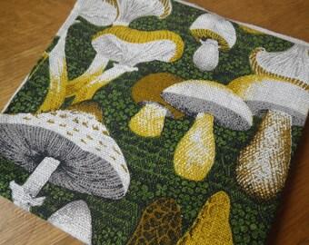Vintage Mushroom Tea Towel