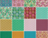 Dream Weaver Fat Quarter Bundle by Amy Butler for Freespirit Fabrics 16prints -COMPLETE-