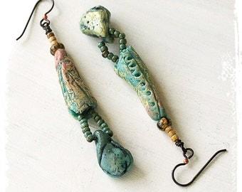 Bohemian Earrings for Women, Tribal Earrings For Her, Gift for her Ethnic Earrings, Earrings for her Gypsy,