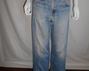 Vintage BIG MAC  jeans zip up  W 34 Waist