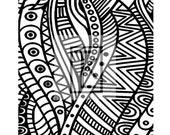 Zen Waves Clear Stamp Texture