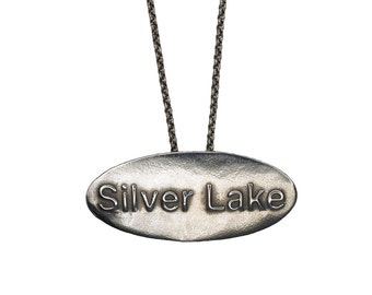 Porterness Studio Silver - Silver Lake  - Los Angeles - Pendent on Sterling Silver Chain