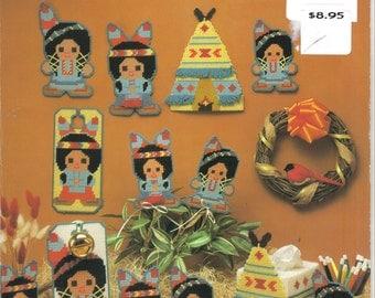 Little Indians  -  plastic canvas leaflet