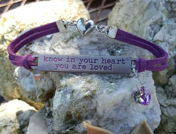 Leather Bracelets, Inspiration Bracelet, Encouragement Bracelet, Mens Jewelry, Ladies Jewelry, Courage Jewelry, Survivor Jewelry