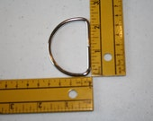 2 inch D Ring, Metal, Use with 2 inch webbing (Set of 2)