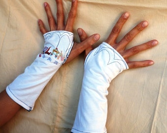 "Fingerless mittens ""Disneyland Paris"""