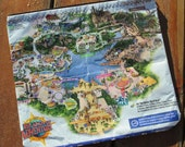 RePuRpOsEd Zipper Pouch from UNIVERSAL Orlando Theme Park Map