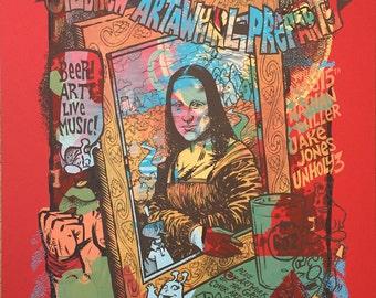 Mona Lisa one of a kind testprint