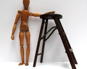 best mid century wooden articulated artist artist's model form 1950s 1960s wood man sculpture