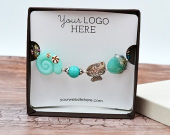 Custom Bracelet Display Cards - Jewelry Display Cards | DS0123
