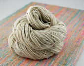 """Bits and Bobs Tweed """"NAKED"""" or undyed- 438 yards 100 grams- Superwash Blueface wool and Nylon sock yarn"""