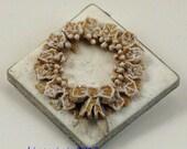 Miniature Shortbread Xmas Wreath
