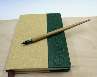 Guest Book, writing book, blank book, leather, paper goods, hand made, lined paper, Wedding Guestbook, Cabin Guestbook