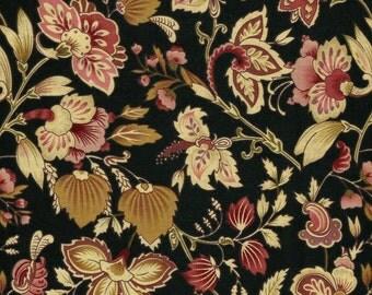 Floral Beauty Designer Fabric, 100% Cotton