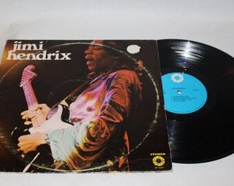 Jimi Hendrix Record Album / 1971