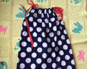 Polka Dot Dress Girls 5/6