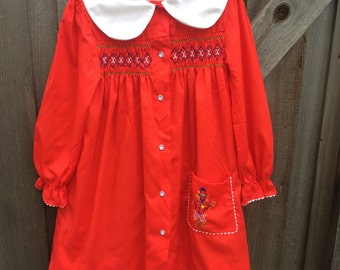 Polly Flinders Dress Girls 7/8