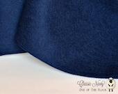 Fat Quarter, Classic Navy Wool Felt, 100% Virgin Wool Felt, Wool Felt Fabric, Wool Felt Sheets, Wool Felt Squares, Natural Wool Fabric