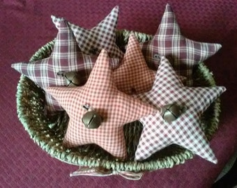 Country Prim Stars Set of 6