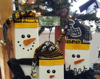 Pick Your Team   NFL Adoption Snowmen  Family Here  several family sets need a new forever home