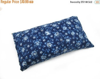 ON SALE Emery Pincushion - Keep your needles clean and sharp with Blue Reproduction Emery Pin cushion