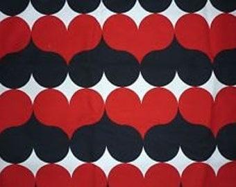 IKEA Finalia Heart Fabric - 1 yard